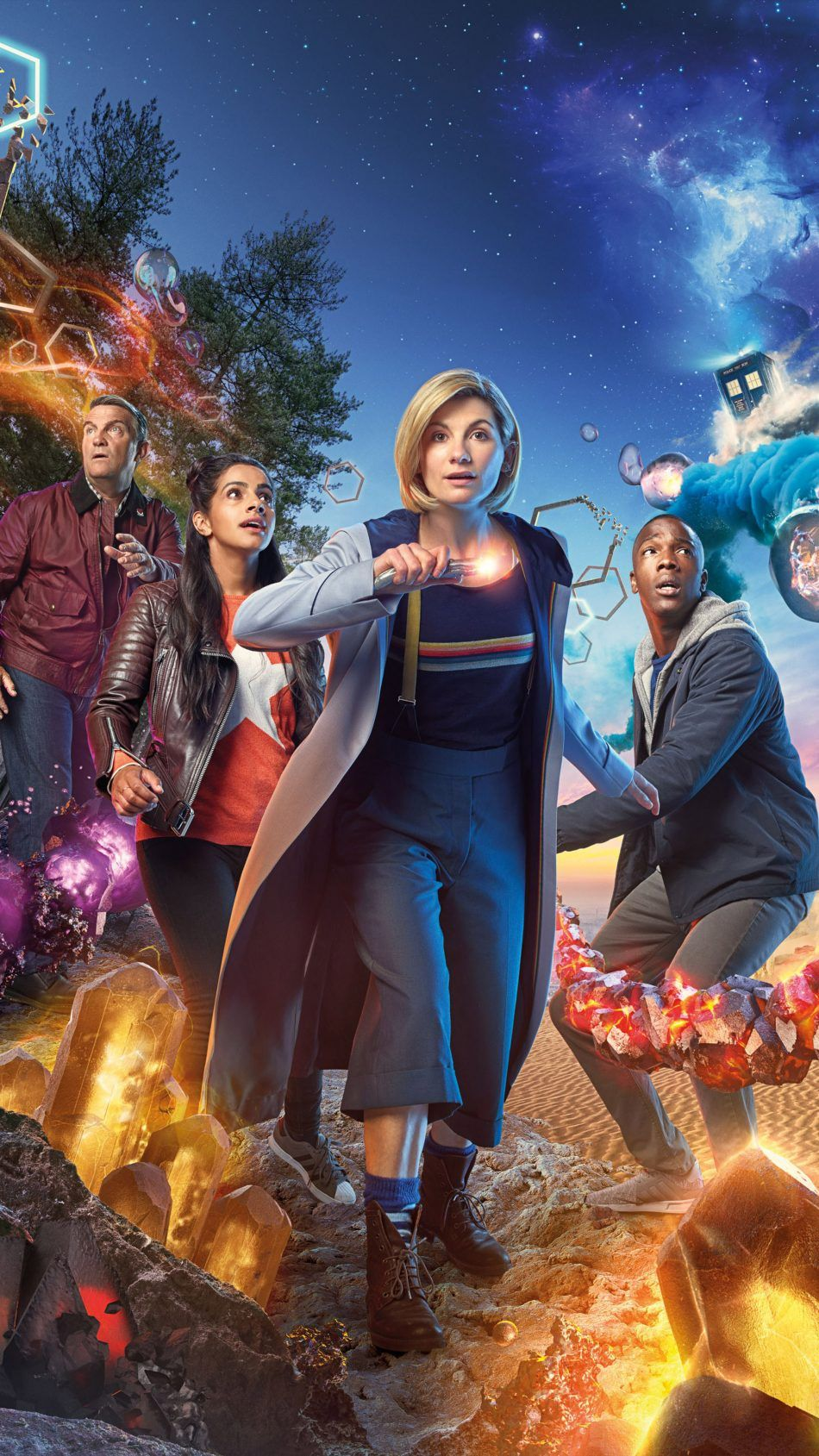 Jodie Whittaker In Doctor Who Season 11 Doctor Who Poster