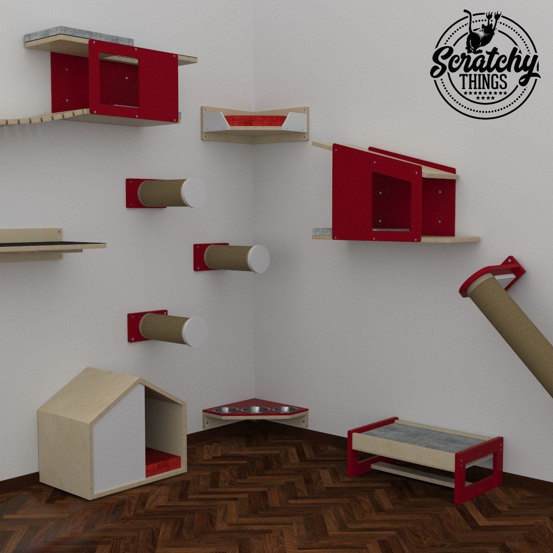 need a room like this check out our 30 flash sale cat furniture rh pinterest com cat wall shelves for sale