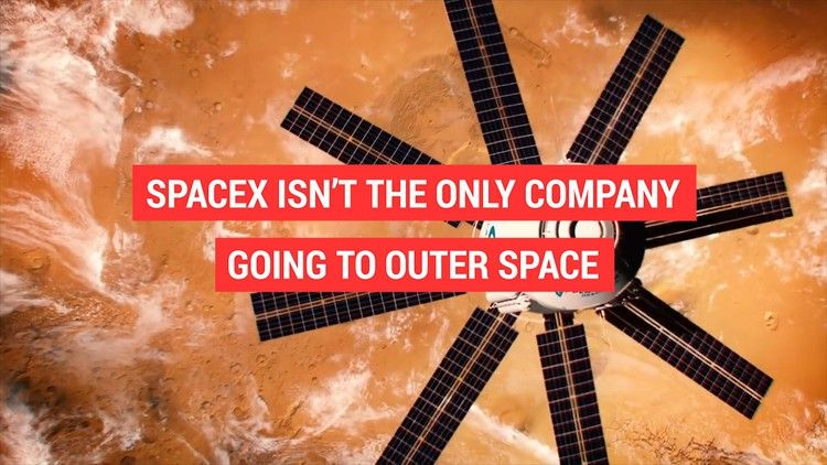 SpaceX isn't the only company going to outer space