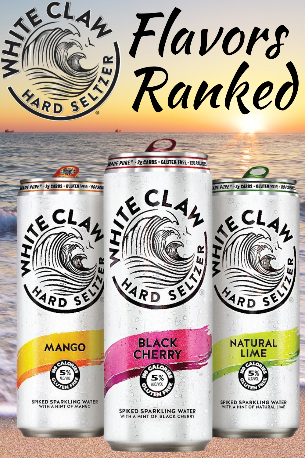 Best White Claw Flavors Ranked Hard Seltzer Apple Cranberry Candle Smell