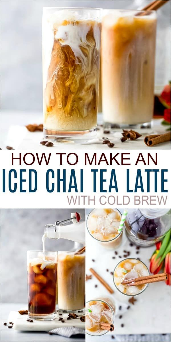 Easy Starbucks Iced Chai Tea Latte Recipe Recipe In 2020 Chai Tea Recipe Tea Latte Recipe Chai Tea Latte Recipe