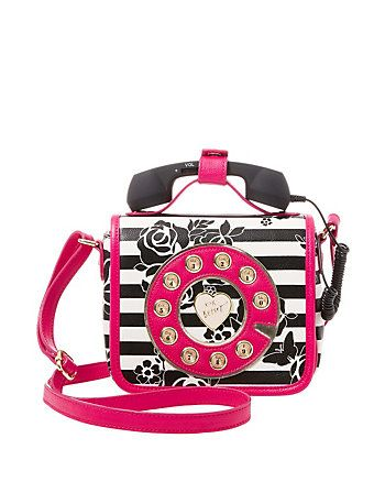 Kitsch Must Have Mini Phone Crossbody Betsey Johnson Handbags Betsy Purses