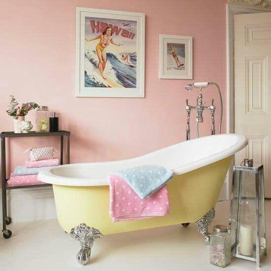 Colourful bathroom bathrooms Pinterest Colorful bathroom