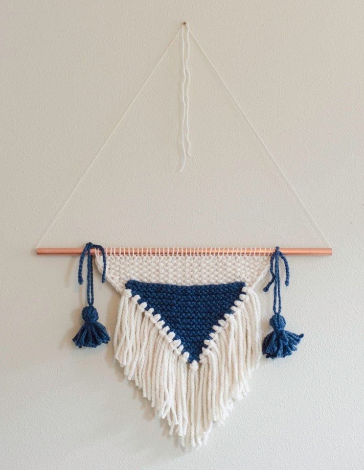 Knitted Wall Hanging Designs
