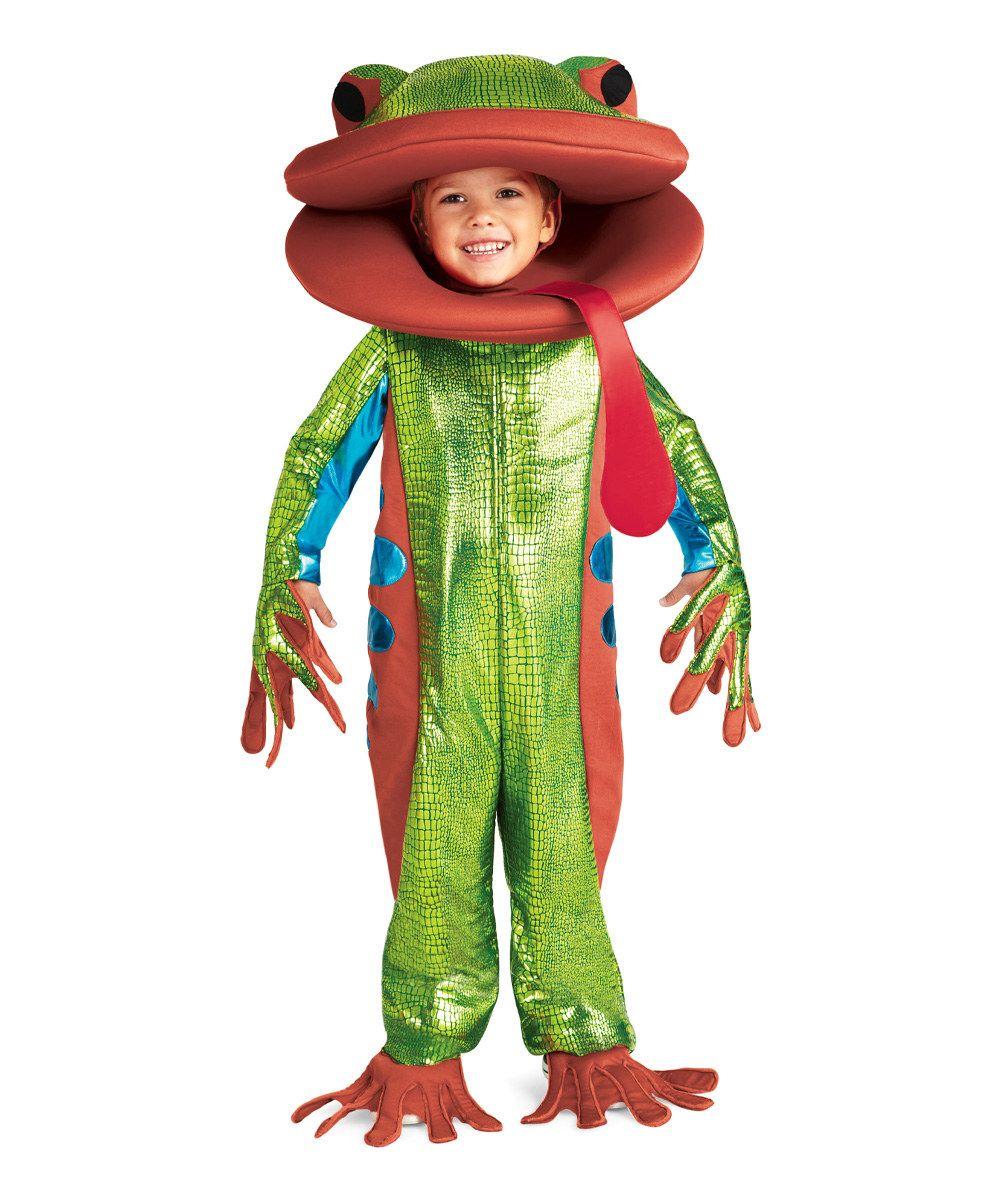 #zulilyfind Tree Frog Dress- Outfit - Kids