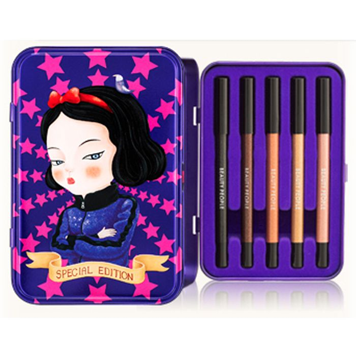 Beauty People Snow White Edition Eyeliner Set Eyeliner Sets Snow White Beauty People