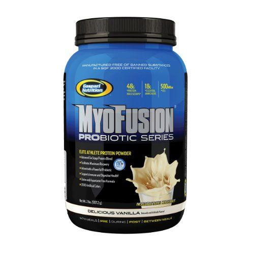 Gaspari Nutrition Myofusion Probiotic Series Vanilla 2 Pounds * See this great product by clic