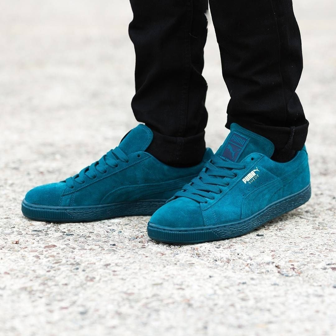 4486156267be1c Puma Suede Classic  Iced Teal