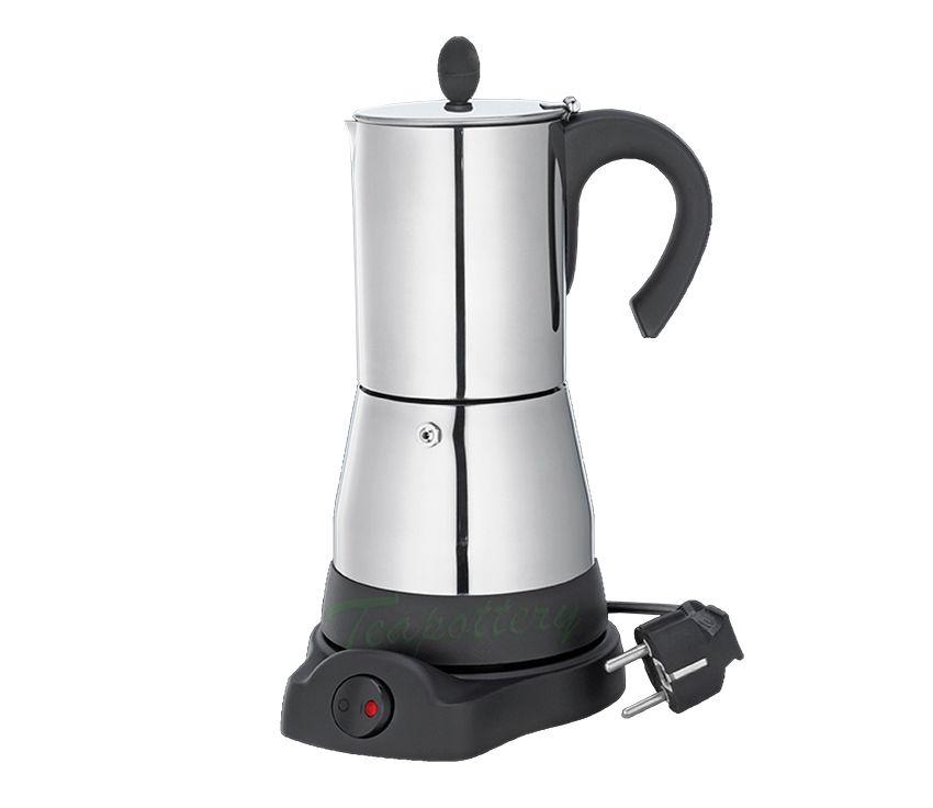 Elektrische Espressopot Percolator Cilio 480 Watt Rvs
