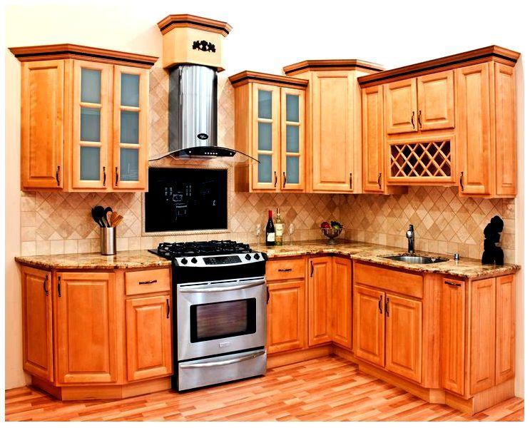 Maple Madera Muebles de Cocina | cocinas increíbles | Pinterest ...