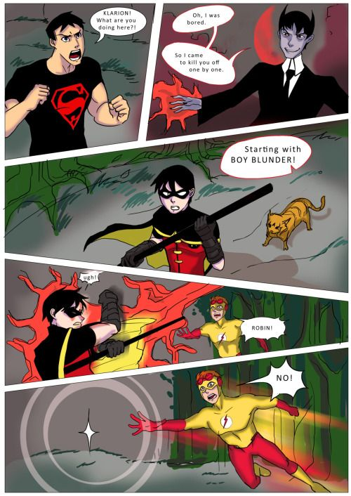 Pin by Tyson L Goujon on Ask      Tumblr | Young justice