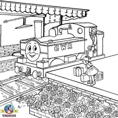 train coloring pages printable # 62