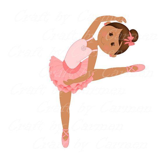 ballerina clip art dancer ballet digital art by craftbycarmen my rh pinterest com ballet shoes clipart clip art ballet dancer