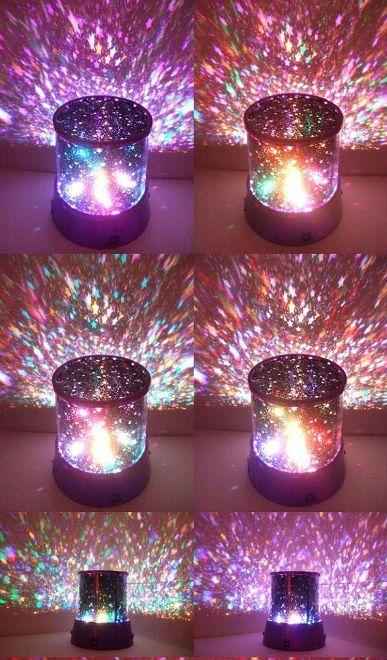 Star projection night light baby night light