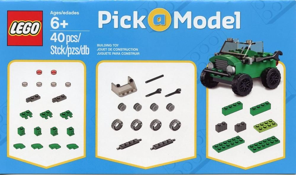 LEGO Set 53850002-1 Car - building instructions and parts list. | My ...