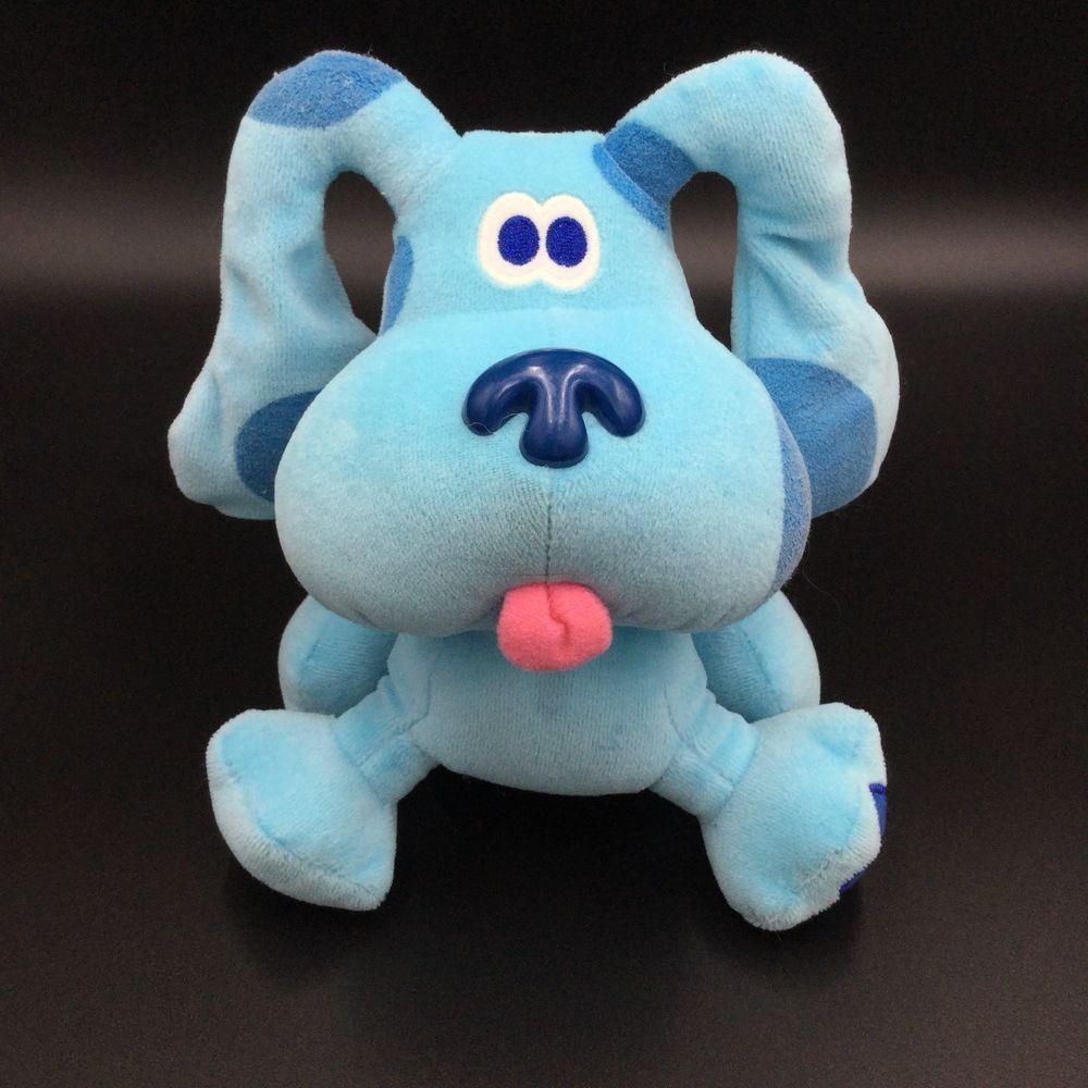 Eden Blues Clues Blue Dog Puppy Plush 8 Soft Toy Stuffed Eden