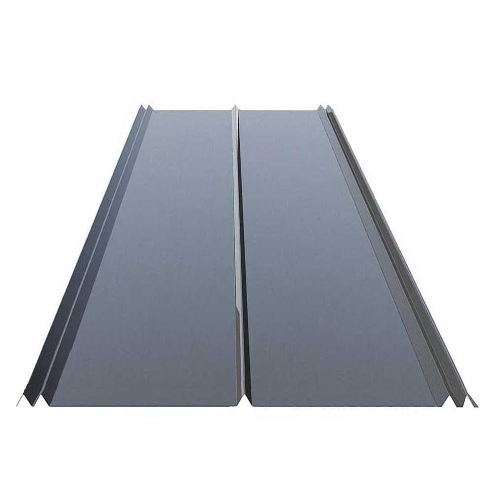 Gibraltar Building Products 12 Ft 5v Crimp Galvanized Steel 29 Gauge Roof Panel 13343 The Home Depot Steel Roof Panels Metal Roof Panels Roof Panels