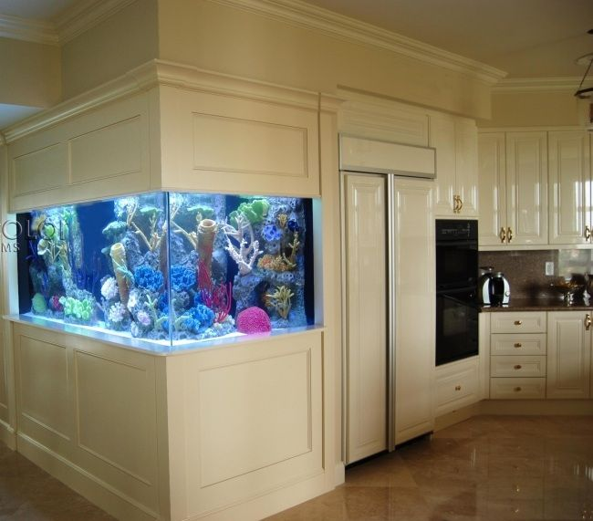 aquarium dans le salon en plus de 103 id es magnifiques salon deco pinterest aquarium. Black Bedroom Furniture Sets. Home Design Ideas