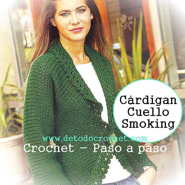 Step by step crochet Sacon | Knit/Crochet Jackets, Cardigans, Coats ...