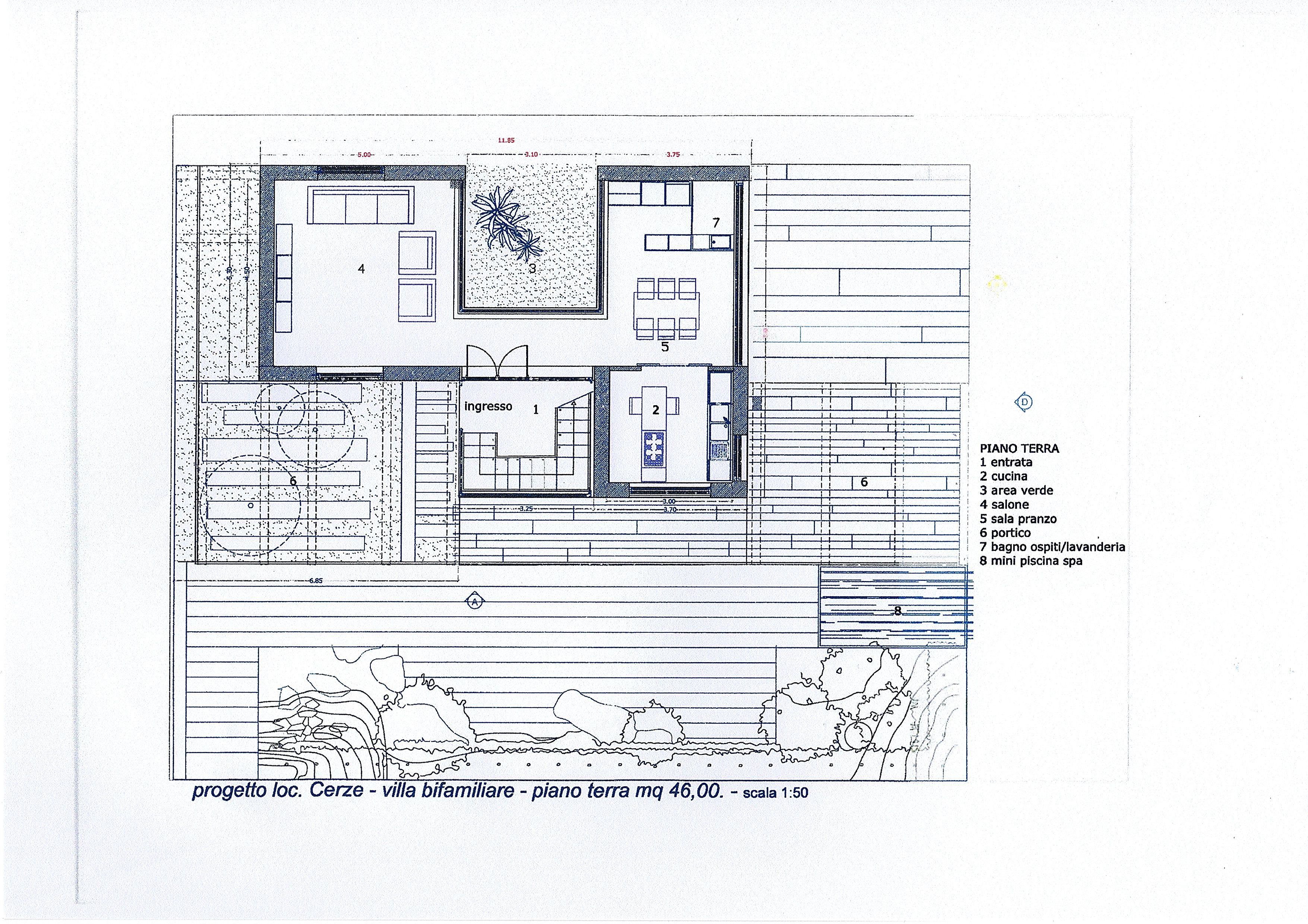 Progetto Di Villa Con Giardino Vista Mare Studio Immobiliare Con