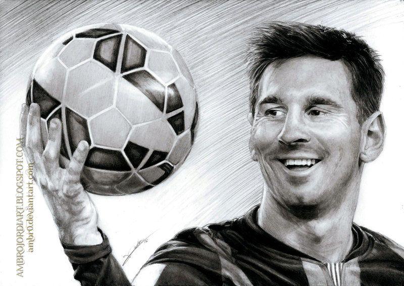 e1573067aa0 Leo Messi by AmBr0.deviantart.com on @DeviantArt | Малюнки | Малюнки