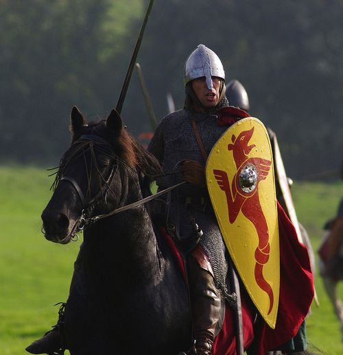The Battle of Hastings by Danny Simpson  That man is Nigel Amos, a friend of mine - we've done a few shows together :P