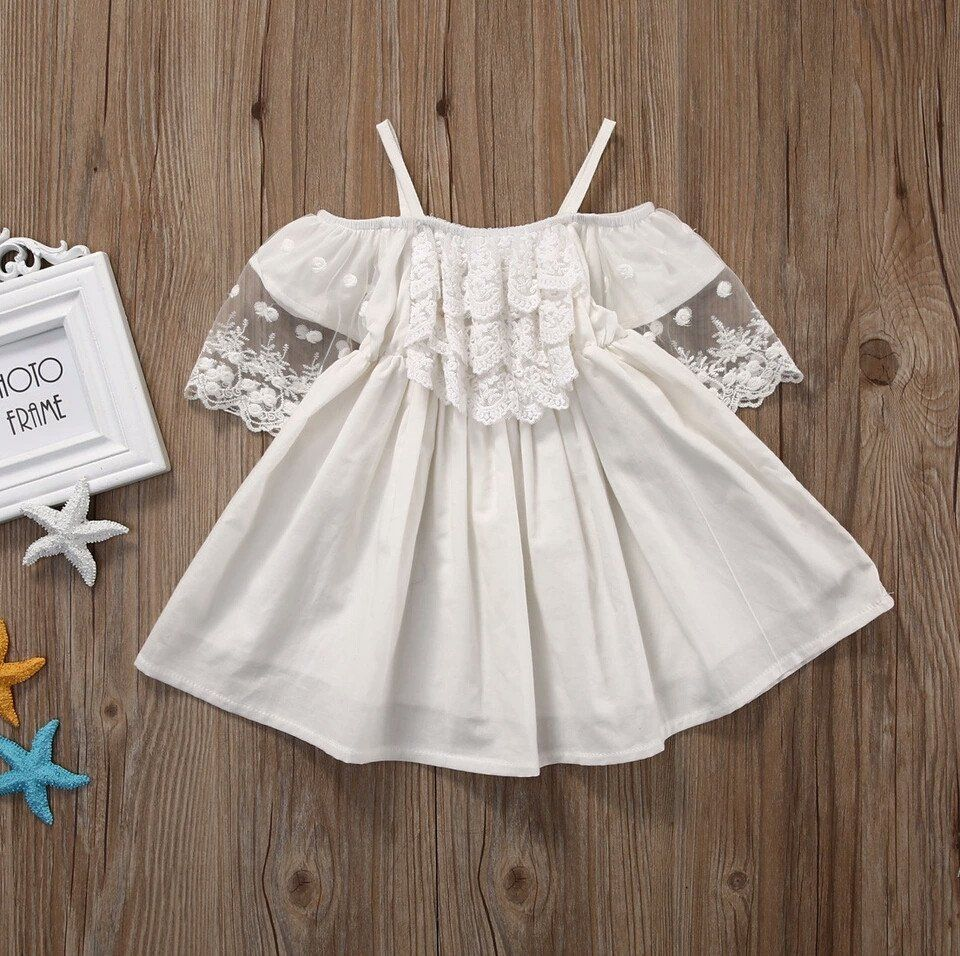 Natalie Dress Boho Chic Dress Flower Girl Lace Dress Tea Party Outfit Birthday Dress Spring Summer Girl Lace Dress Vintage Princess Dress Kids Girls Lace Dress [ 956 x 960 Pixel ]