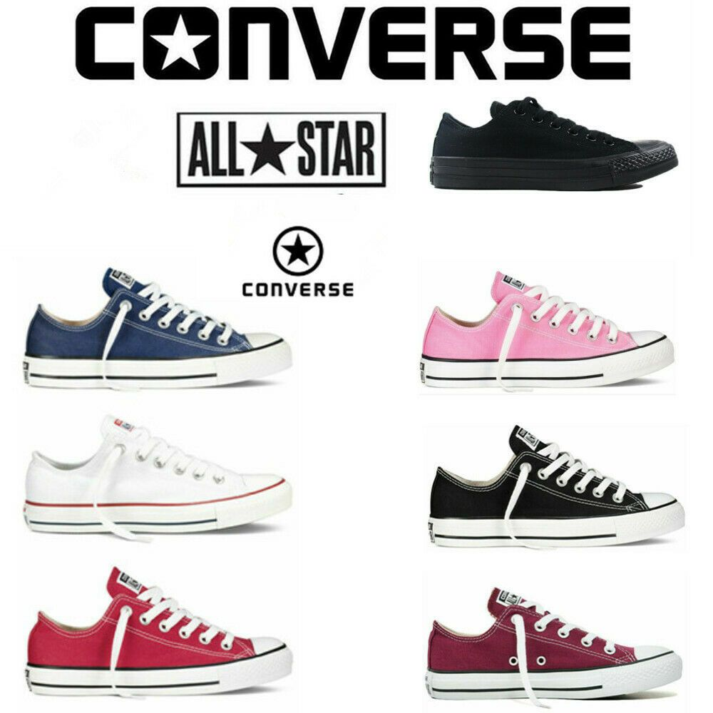 Converse Chuck Taylor all Star Ox Men/'s Trainer Trainers Chucks Low Shoes