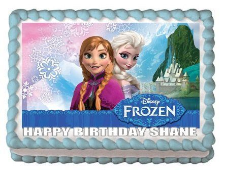 anna from frozen happy birthday sheet cakes Amazoncom FROZEN