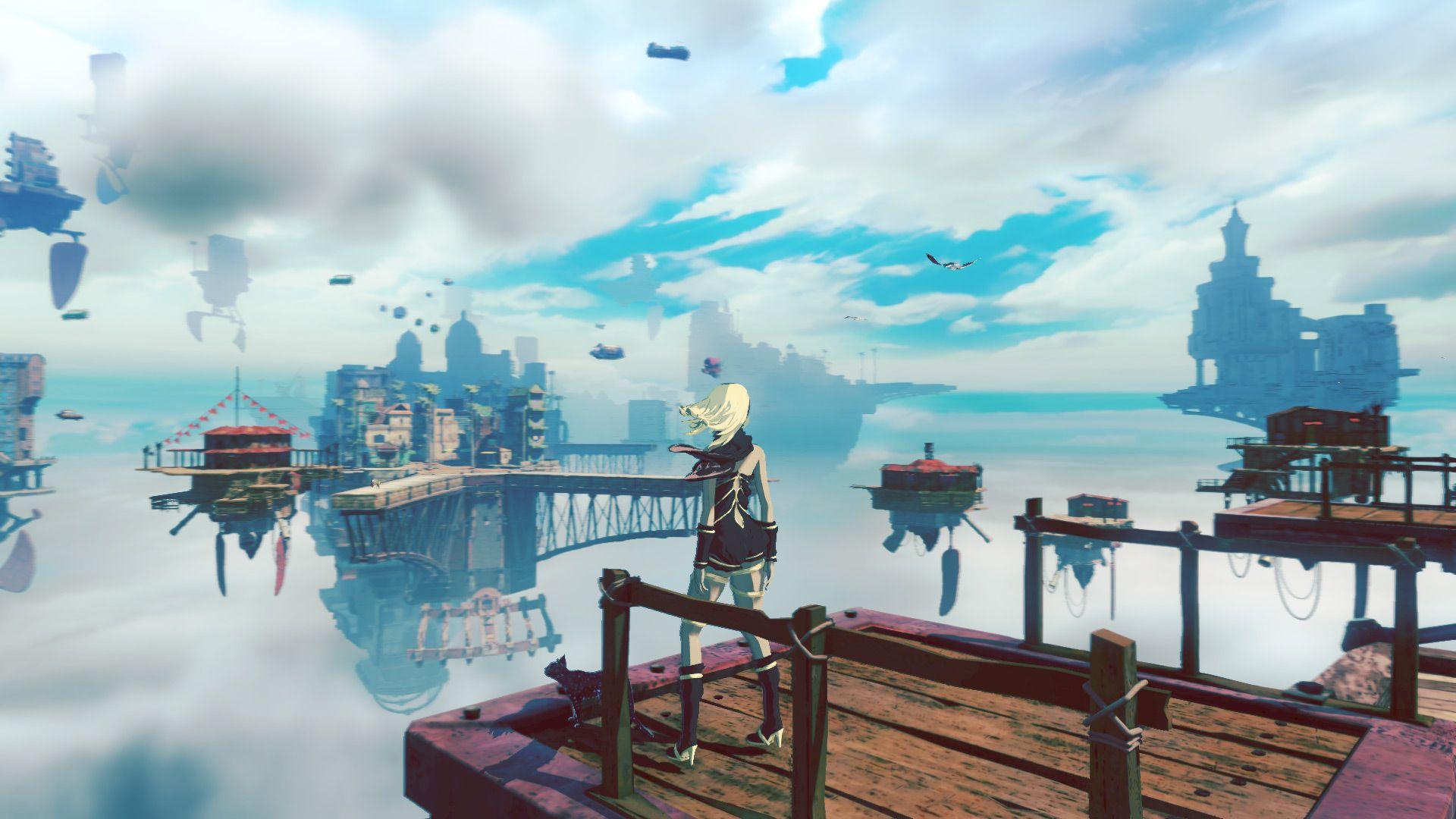 Ein Blick auf die Spielwelt und das Kampfsystem von Gravity Rush 2 - http://sumikai.com/games/ein-blick-auf-die-spielwelt-und-das-kamfsystem-von-gravity-rush-2-132881/