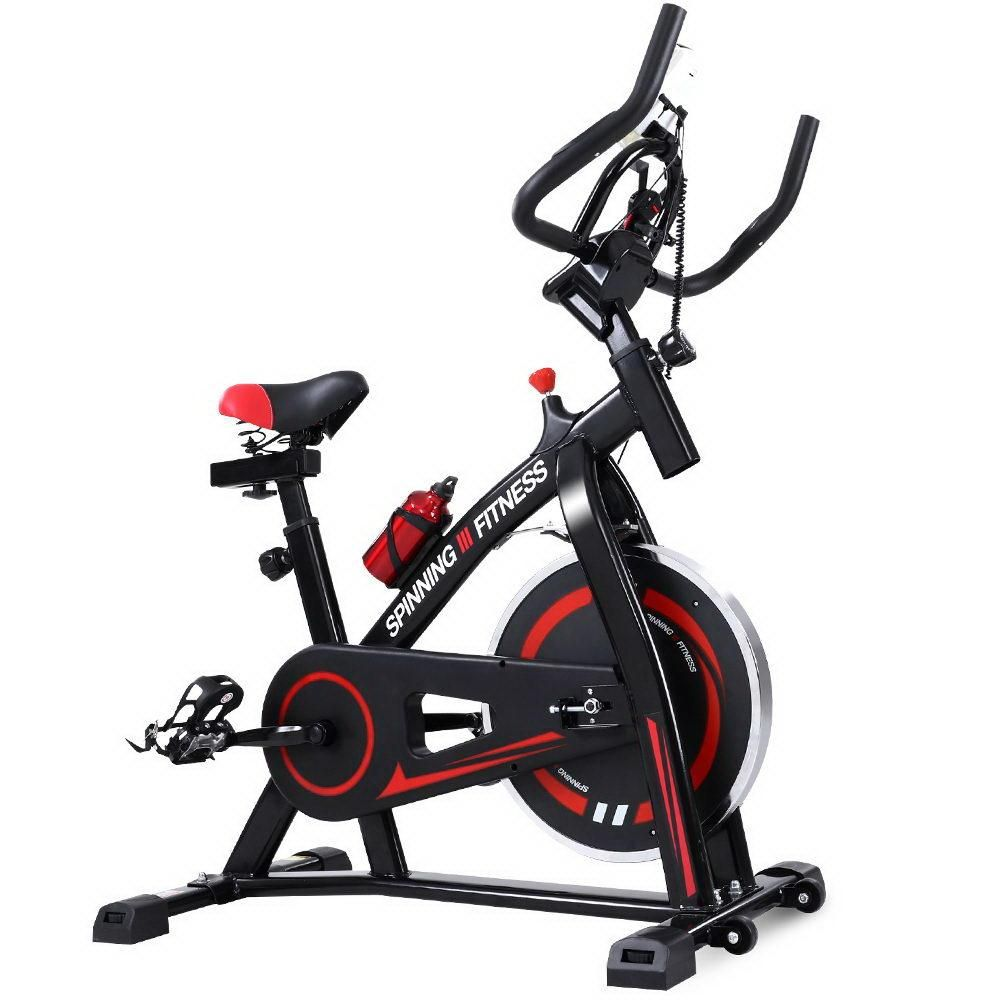 Spin Exercise Bike Flywheel Fitness Commercial Home Workout Gym