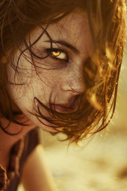 """""""Her beauty magnified and her unusual golden eyes are a whisper of the things to come..."""""""