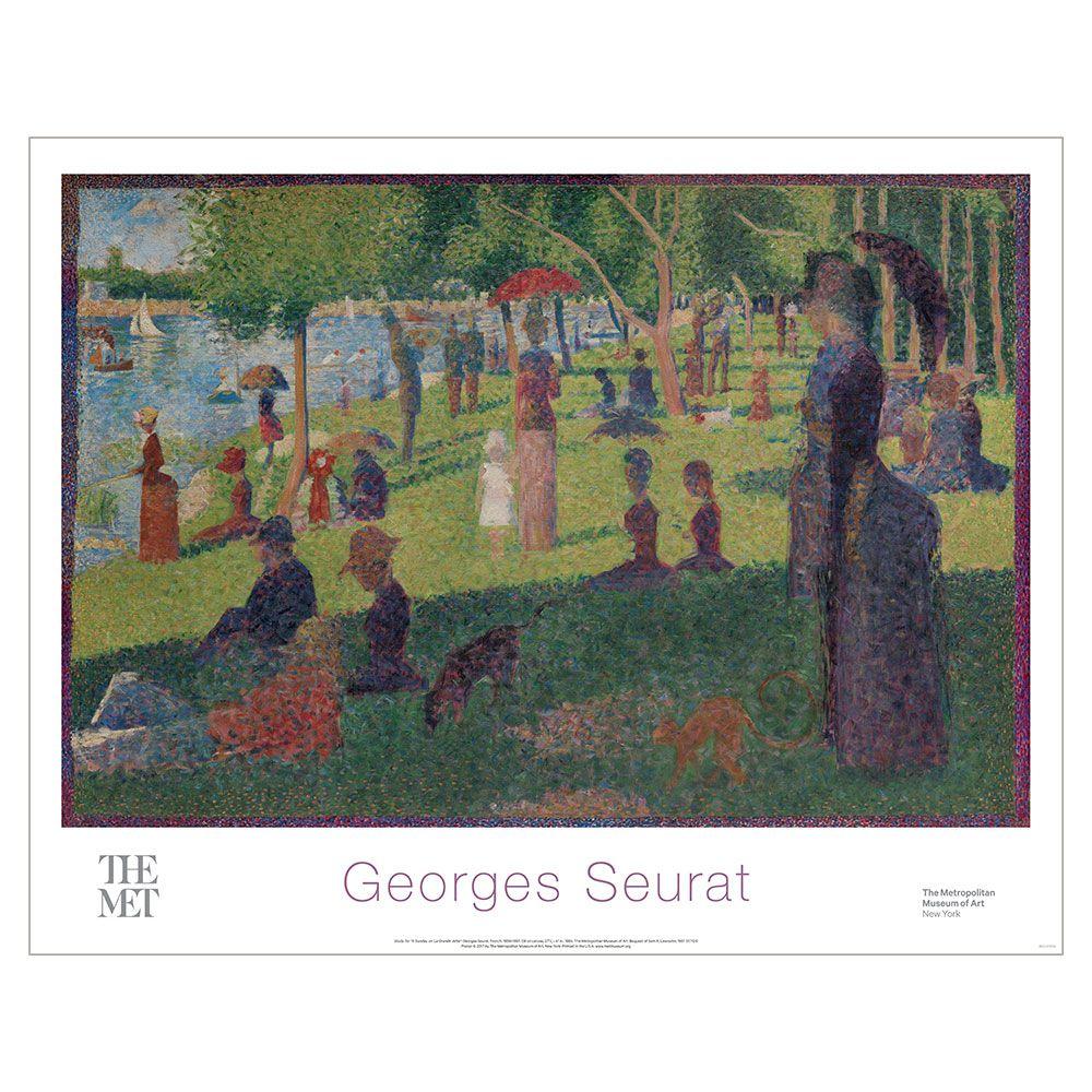 Georges Seurat La Grande Jatte Poster Met Store