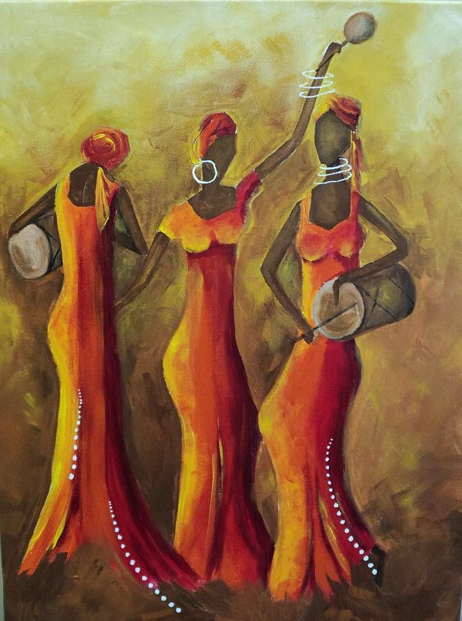 african women dancing topless
