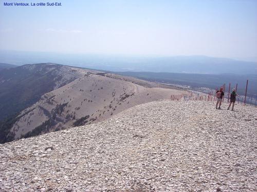 Malaucène: Berg Ventoux - Peak zuidoosten - France-Voyage.com