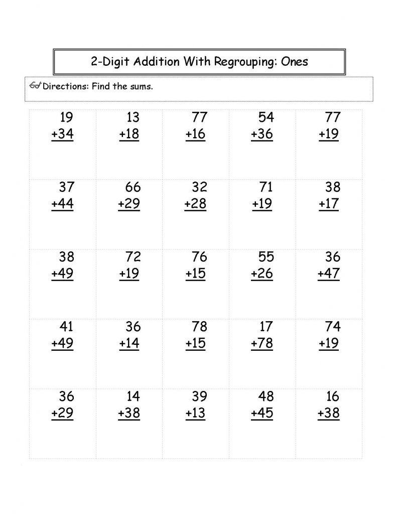 2nd Grade Math Worksheets With Images 2nd Grade Math