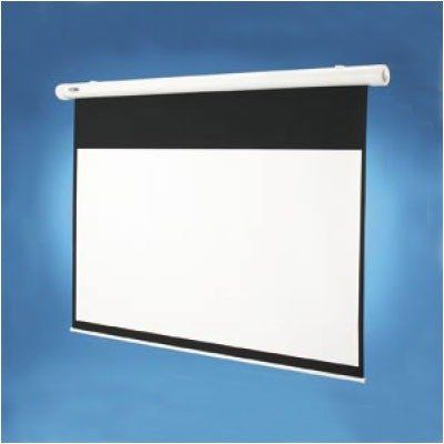 Glass Beaded Salara Electric Screen Ntsc 100 Diagonal By Draper 611 99 132021 Features Floating Gunlatch Wall Brackets Grip The Electric Screen Projection Screen Transparent Screen