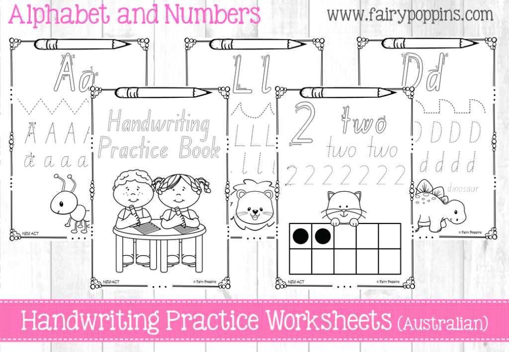 australian handwriting practice book projects to try handwriting practice worksheets. Black Bedroom Furniture Sets. Home Design Ideas