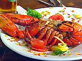 BAKED STUFFED LOBSTER http://www.foodnetwork.com/recipes/foodnation-with-bobby-flay/baked-stuffed-lobster-recipe/index.html ⇨ Follow City Girl at link https://www.pinterest.com/citygirlpideas/ for great pins and recipes!  ☕