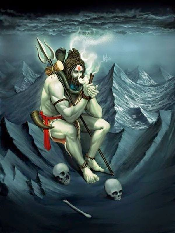Shiva Smoking Chillum Hd Wallpaper Jai Mahadevaa Boom Shankar Jai Mahadevaa Lord Shiva