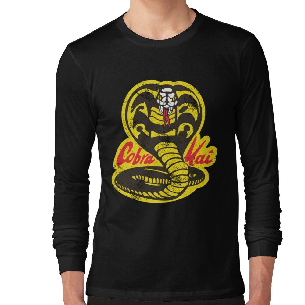 Cobra Kai Long Sleeve T-shirt by Ptile80