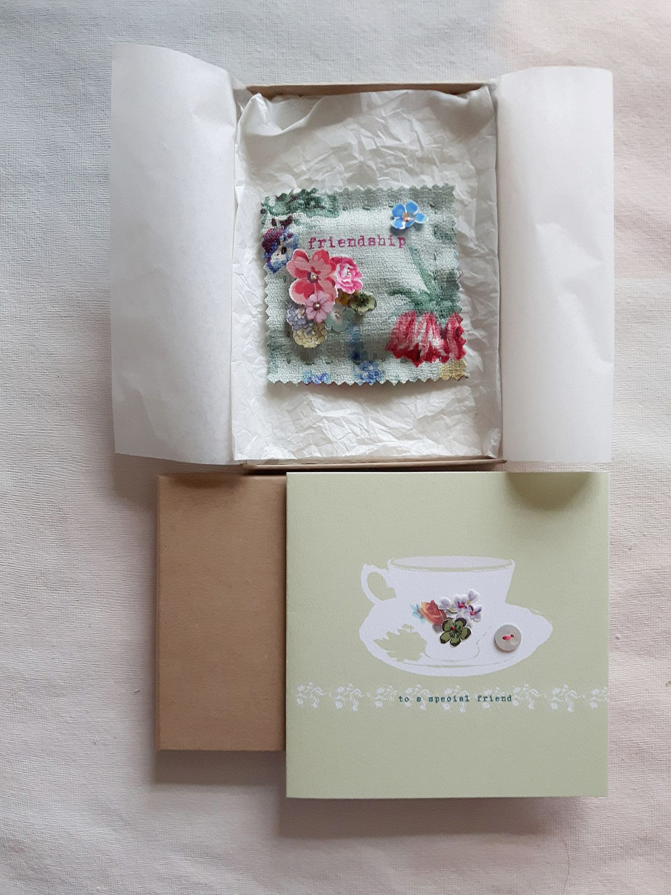 Friendship gift collection craft ideas pinterest friendship a special card and boxed lavender linen ravioli that has been hand made here in the linen garden studio a perfect scented gift collection kristyandbryce Gallery