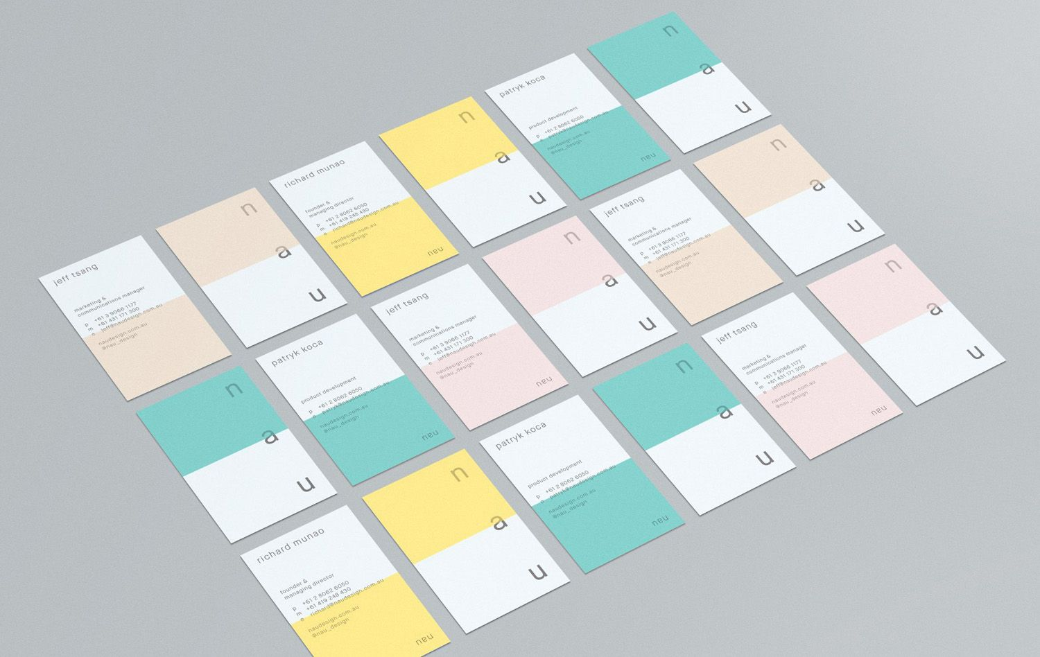 Business Card Design Gallery & Inspiration — BP&O | Pinterest ...