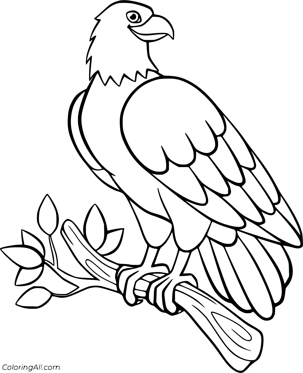 27 Free Printable Eagle Coloring Pages In Vector Format Easy To Print From Any Device And Aut Bird Coloring Pages Cartoon Coloring Pages Animal Coloring Pages