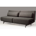 Double Sofabed w/ 2 Single Swivel Chairs