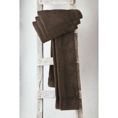 Makroteks Textile L.L.C. Turkish Cotton Bath Towel Color: Chocolate