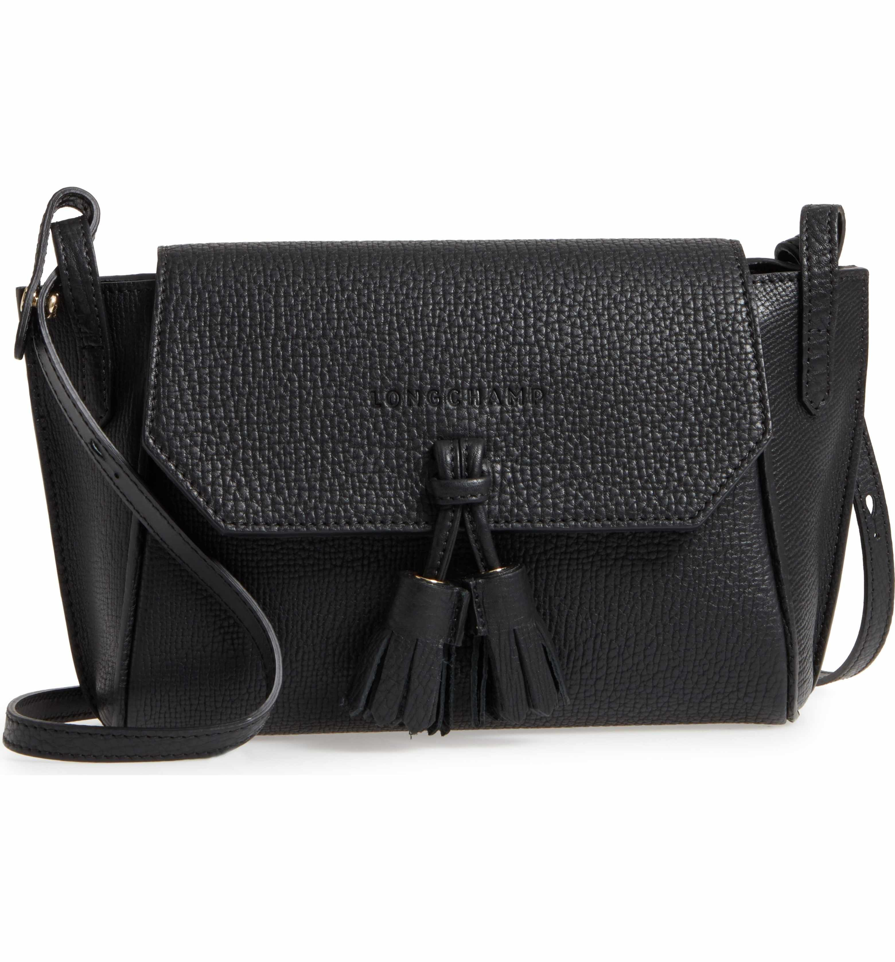 Main Image - Longchamp Penelope Leather Crossbody Bag  87cab38b3d2d8
