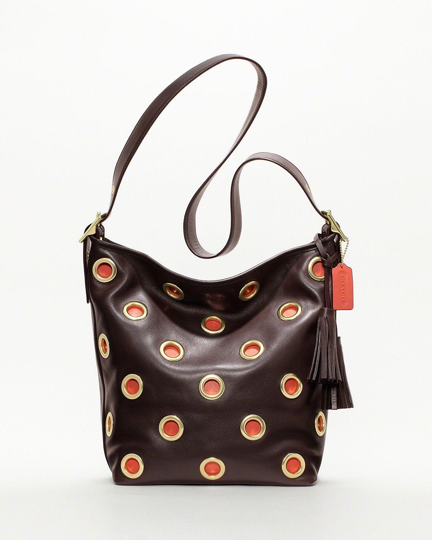 COACH Legacy Grommet Duffle - New Arrivals - Boutiques - Handbags - Bloomingdale's