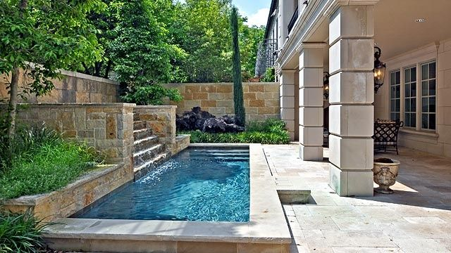 small screened in lap pools | Small garden/patio with lap pool. Nice on small diving pools, sexy crazy swimming pools, small wading pools, small swimming pools, small resistance pools, small gunite pools, small therapy pools, micro swimming pools, cool plunge pools, small pool installation, fiberglass pools, small pools for small spaces, small cement pools, small prefab pools, small contemporary pools, tiny pools, small oval pools, small l-shaped pools, small pools for narrow yard, small rectangular pools,