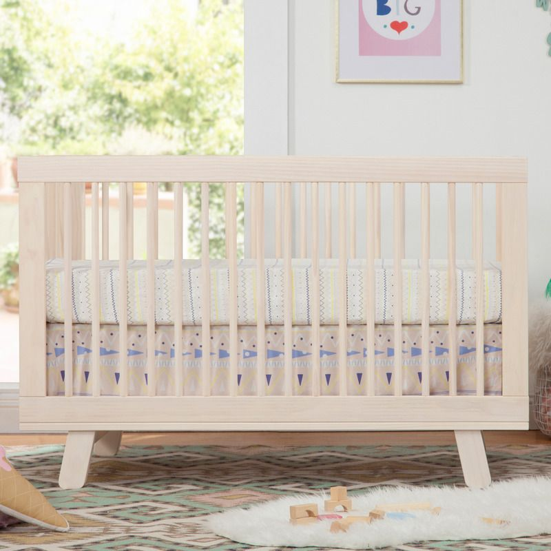 Hudson 3 In 1 Convertible Crib With Conversion Kit In 2020